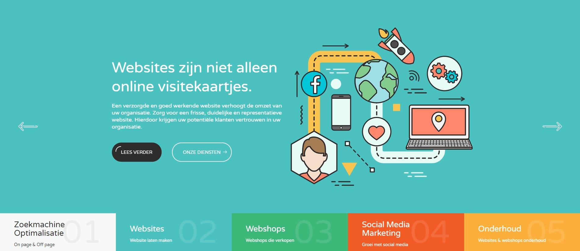 JG Webmarketing header