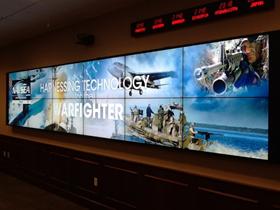 LCD videowall